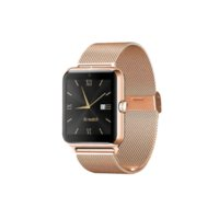 Wholesale Mp4 Metal - E-MI Newest Bluetooth Smart Watch Z50 with Metal Frame and Steel Strap SIM card TF mp3 mp4 compatible with apple Android Phones