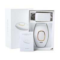 ipl cihaz epilasyon makinesi toptan satış-Mini Kalıcı Elektrik Lazer IPL Epilasyon Cihazı Epilatör Depilador Yüz Makinesi 150000 Kez Darbe Lamba Kadınlar Için