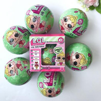 Wholesale Wholesale Brown Gift Boxes - Girls Dolls LOL Surprise Lil Sisters Series 2 Lets Be Friends Action Figures Toys Baby Doll Kids Gifts With Retail Box CCA7451 200pcs
