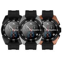 relógio inteligente ultra fino venda por atacado-Relógios inteligentes Bluetooth G5 NB-1 Smartwatch Smartwatch MT2502C ultra slim tela IPS passo da frequência cardíaca monitor de sono para IOS Android Livre DHL 10 pcs