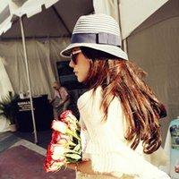 Wholesale Travel Straw Hats For Women - Wholesale- Summer sun hats Youthful fashion Summer Hats For Women Sun Visor Beach Hat Caps Casual Travel bucket hat Chapeau Femme Gorras