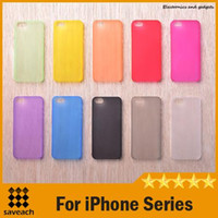 Ультра тонкий 0.3mm прозрачный Clear Hard Cover iPhone чехол для iPhone 4 / 4S / 5 / 5C / 5S / 6/6 Plus PP Материал