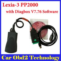 Wholesale Diagbox Software - 2017 Lite Version Lexia-3 lexia3 V48 For Citroen Peugeot Diagnostic PP2000 V25 with Diagbox V7.83 Software Free Shipping