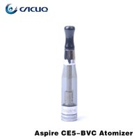 Wholesale Ego Compatible Batteries - Aspire CE5 BVC single atomizer compatible with ego battery ego twist battery vaporizer