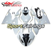 Wholesale Unpainted Bodies - Injection Fairings For BMW S1000 RR 15 16 2015 2016 ABS Plastic Complete Motorcycle Fairing Kit Cowling Kits Cowlings Body Covers Unpainted