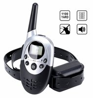 Wholesale Dog Remote Sound - Remote Dog Training Collar 8 Levels of Shock and Vibration Correction Plus Sound Mode Water-Resistant Anti Bark Collar Range up to 1000m