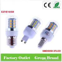 Wholesale G9 8w Led Bulb - SMD5050 corn led E27 E14 G9 led corn bulb AC110-240V 24LED 48LED 69LED 5W 6W 8W LED light bulbs For home Lighting