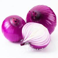 посадка лука оптовых-Фиолетовый лук семена овощных культур 100 шт. / пакет без ГМО легко расти дома сад семена для посадки