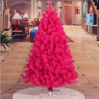 Wholesale Solid Object - 150CM   1.5M Rose Hotel Arcade encryption Christmas tree Christmas ornaments and decorative objects