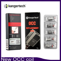Wholesale Mini Upgrade - New Kanger Vertical Subtank OCC Coil Upgraded Subtank Coil 0.5 1.2 1.5ohm fit Kangertech Subtank Mini Nano Plus tank DHL Free 0266021