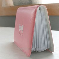 Wholesale Lovely Bowknot Wallet - cartoon lovely bowknot creative card package   bank card set South Korea stationery Cute Card Pocket Bag Wallet Holder