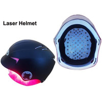 Wholesale Head Eyes Massager - Newest Laser Hair Regrowth Helmet 650nm Diode laser hair growth anti hair loss treatment head massager cap eye protective glasses