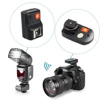 WANSEN PT-04GY 4 canali Wireless Flash Trigger Speed ​​Sync 1 / 250s con ricevitore per Canon Nikon Pentax DSLR
