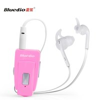 Wholesale Bluedio Nfc - Bluedio EH Bluetooth Earphonr Stereo HiFi Headset with Mic NFC Function In-Ear Earphone Headset for IOS Androic Auriculares