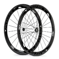 Wholesale front hub bearing - Free shipping 2017 50mm black 3k Twill road carbon bike wheels set clincher 700C with ceramic bearing hubs bicycle wheels in stock