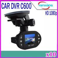 "Wholesale Full Hd Video Size - Mini Size High Quality 1.5"" LCD car camera video recorder 140 Degree C600 car dvr Full HD 1920*1080P IR LED car dvrs 10pcs YX-DV-02"