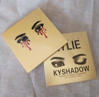 HOT Gold Kyshadow Kylie JENNER cosmetico Powder Powder Eye shadow Kit 9 Color EyeShadow Palette Beauty make-up series