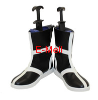 Wholesale Bleach Cosplay Shoes - Wholesale-Cosplay BLEACH Kurosaki Ichigo boot Men's Shoes High Quality Leather Boots Custom 6843