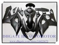 ingrosso zx6r plastic parts-Iniezione 100% nuovissimo kit carena adatto per Suzuki GSXR1000 2005 2006 GSX-R1000 2005 2006 GSXR 1000 05 06 # EI490 COLORE NERO