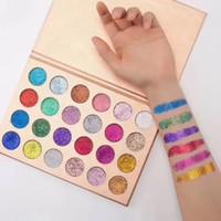 Wholesale Eyeshadow 24 Colors - New Stock!! CLEOF Cosmetics Unicorn Glitter Eyeshadow Palette 24 Colors Makeup Eye Shadow Palette