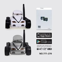 Happycow 777-270 I-SPY Mini RC Tank 0.3M HD Kamera Video Auto Wifi Wireless Realtime iOS Android Fernbedienung Auto Spielzeug