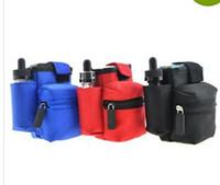 ingrosso sacchetto del sacchetto di cig-E Cig Bag Case Box Mod Pouch Box Mod Carrying Case Varie Contiene Mod RDA Bottle and Batteries Vapor Pocket Wholesale