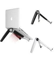 Wholesale Macbook Cooling - Universal PC IPAD Macbook Cooling Triangle Support Desktop Stand Holder for ipad 2 3 4 5 6 mini 2 3 4 with Retailpackage