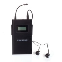 Wholesale Takstar Wpm - New UHF 780-789MHz TAKSTAR WPM-200 single receiving (including earphone) Professional Wireless Monitor System receiver wholesale by aibierte