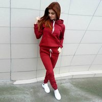Wholesale Lady Brand Cotton Sweatshirts - Branded Winter Women Sweatsuit Sets Of Two Piece Women Clothing Fashion Sweatshirts Long Pants Women Tracksuit High Quality Ladies jumpsuits