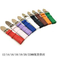 Wholesale Bamboo Needle - Hot PU leather calfskin bamboo pattern wristband accessories men and women general 12-22mm first layer of small leather strap wholesale