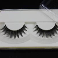 Wholesale Wholesale Single Eyelash Extensions - Wholesale-False Eyelashes good eyelashes extensions single blank packing eye lash thick eyelash (50 pairs lot) private label acceptable