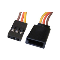 """Wholesale Futaba Cable - 20pcs New 300mm 12"""" Servo Extension Lead Wire Cable Futaba JR 26AWG"""
