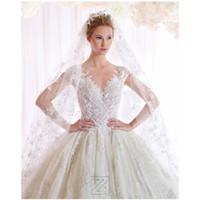 marfim casamento designer vestidos venda por atacado-Vestido De Noiva Branco Marfim V Neck Vestidos De Casamento 2016 Vestido de Baile Designer Novo 2016 Primavera Rendas E Tule Bordado Vestido De Noiva De Casamento