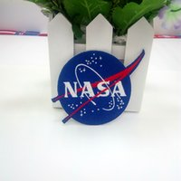 Wholesale Military Badge Embroidery - Embroidery Cloth Paste Nasa Nasa -Sided Patch Armband Badge Military Patches Badges Morale Patches