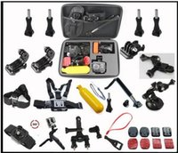 Wholesale Cam Accessories - Camera Accessories pack Kit Head Chest Mount Floating Monopod Pole for Go Pro Hero 12 3 4 Session SJ CAM SJ4000 Sj5000 Xiaomi Yi