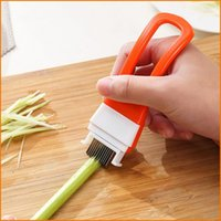 Wholesale Magic Slicer - (2 Color) Sharp Kitchenware Vegetable Cutter Slicer, Magic Shredded Green Onion Knife Cut Cooking Tools Kitchen Accessories