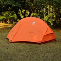Wholesale Pink Camping Gear - 3F UL GEAR Outdoor Ultralight Camping Tent 210T PU Coating 3000mm Waterproof Tents 3 Season 2 Person Summer Tent For MSR Hubba