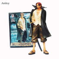 Wholesale One Piece Shanks Toy - Anime Cartoon One Piece Shanks Pvc Action Figure Collectible Model Toys 24cm Kt393