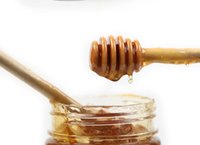 DHL Vente en gros Mini bois Honey Honey Honey Dippers Party Supply Cuillère Stick Honey Jar Stick 8cm 10cm 15cm 16cm