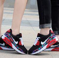 Wholesale Medium Air Wedge - zapatos de mujer 2015 mens fashion sneaker wedges laser equipment unisex running shoe women tennis shoe air huarach walking shoe