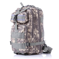 Wholesale Tactical Laptop - 12 color Camping Trekking bag Outdoor camouflage mountaineering bag 3p military Tactical Backpack laptop Molle Rucksacks camouflage backpack