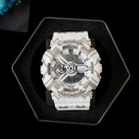 Wholesale Designer Watches Led - New designer camouflage men ga110 watch Auto Light LED Waterproof Sports Hiking g 110 watches Original Box