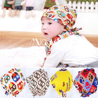 Wholesale Baby Pirate Caps - Baby Hats Child Autumn Infant Pirate Cap For Kids Cotton Elastic Beanie Baby Girl Newborn Photography Props