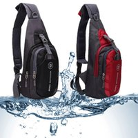 Wholesale Waterproof Package Bag - Wholesale-2016 Fashion Men Women Chest Bags Nylon Diagonal Package Messenger Shoulder Waterproof Sport Casual Running Outdoor Back Pack