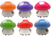 Wholesale Small Usb Vacuum - Cleaner cute ideas Creative small appliances mini keyboard vacuum cleaner Desktop Desktop sweep vehicle clean cleaner color mushrooms