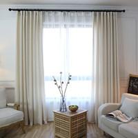 sheer linen cortinas de la ventana lino cortina permeable del aire sala de estar dormitorio cortinas