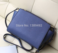 Wholesale M Phone Brand - Wholesale-100% PU LEATHER Women bags Messenger bag M color Shoulder Bag designer brand hand bags hand women famous