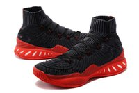 Wholesale Q Up - Crazy Explosive 2017 Primeknit Black Red For Sale Multicolor Poker Q Andrew Wiggins John J Wall 3 Crazy Explosive Vegas Primeknit Shoes
