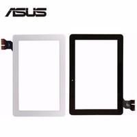 """9,7 tablette weiß großhandel-Großhandels-Schwarz-Weiß 10,1 """"für ASUS MeMo Pad ME103 K010 ME103C Touchscreen Digitizer Glasscheibe Sensor MCF-101-1521-V1.0"""