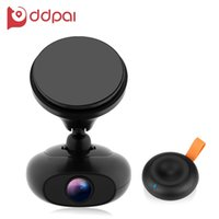 DDPai M4 1080P F1.8 Grande abertura GPS Car DVR Camera Support Remote Snapshot Loop Recording Dual WiFi integrado com GPS